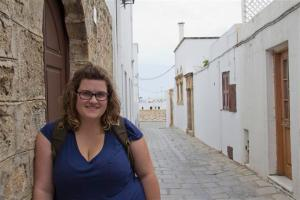 Me in Lindos, Rhodes