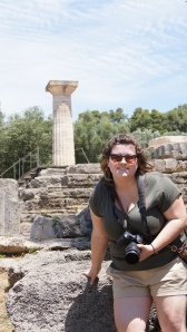 Touching the Temple of Zeus