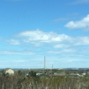 Inco Smokestack, Sudbury. The tallest in Canada at 1,250 ft.