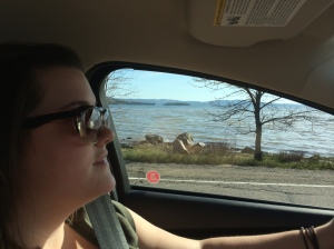 It was a beautiful drive along the east coast of Lake Superior