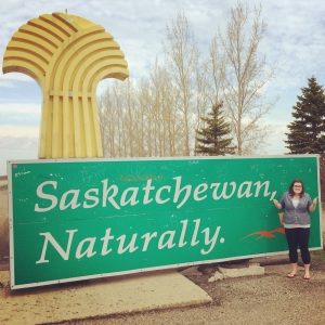 Made it to Saskatchewan