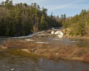 Chippawa Falls is the halfway point of the TransCanada Hwy