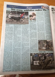 My article in the Whitecourt Press