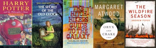 My five favourite books