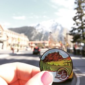 Banff National Park Geocoin