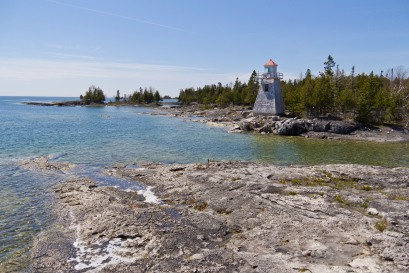 South Baymouth Lighthouse Manitoulin Island