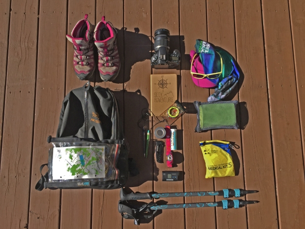 What's in my hiking pay pack - my wandering voyage