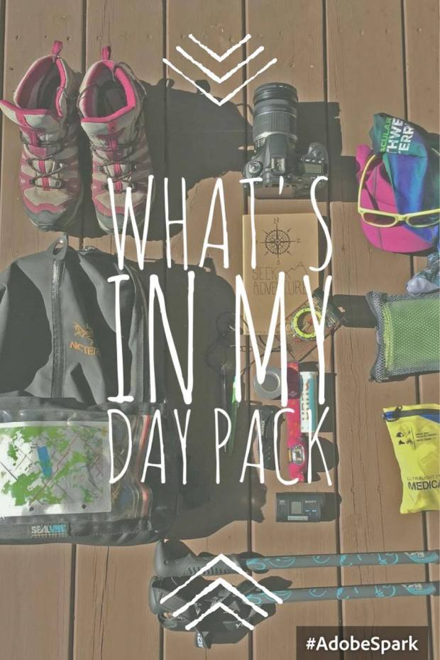 Whats in my Day Pack